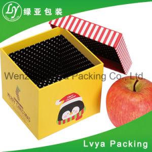 La Junta Whited Apple con la comida de Navidad Caja de papel