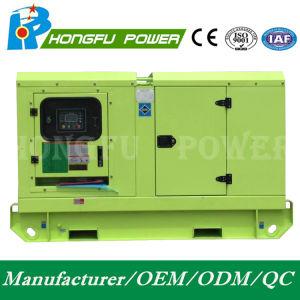 geluiddichte Super Stille Diesel 200kw Hongfu Generator met Motor Perkins