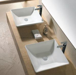 41см керамического искусства раковина для ванной комнаты (1001)