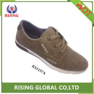Китай торговой марки для изготовителей оборудования с плоским дышащий мужчин джинсовая повседневная обувь