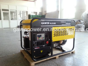 12kVA generador de gasolina de dos cilindros por motor Kohler