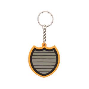 주문 고무 Keychain 의 싼 승진 고무 열쇠 고리