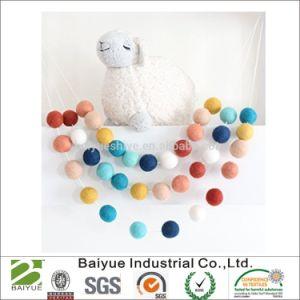 Lana de Color de pelo bola para Servicio de lavandería y la decoración del hogar