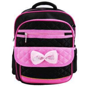 Las niñas preciosa Bowknot colorida Bolsa Mochila escolar