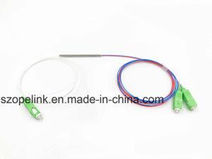 1X2 0.9mm Sc/APC стальной трубы мини-оптическое волокно Fbt муфты