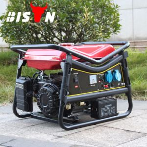 バイソン((h) 3kw中国) BS4500Vの長期間の時間ポータブルの発電機
