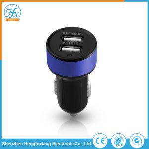 Universal 5V/2.1A Dual USB coche Cargador de teléfono móvil