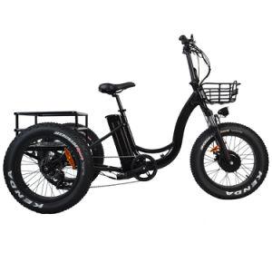El JD-20R13 Rueda Delantera el Motor 48V 12.5ah Step-Through triciclo eléctrico de tres ruedas