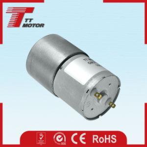 12V electric high torque a bajas revoluciones del motor de CC de engranajes para pulidora