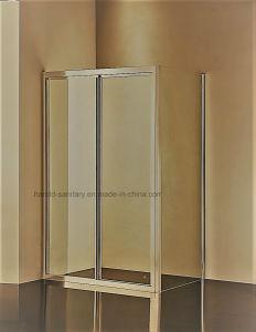 HrP035アルミニウムプロフィールのハンドルのシャワーのドア