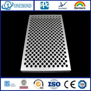 Panel de revestimiento de pared de aluminio