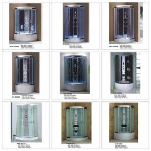 2015 Templar vidrio ducha de vapor de la moda