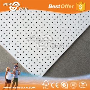 Techo de fibra mineral y PVC Techo suspendido del techo de yeso