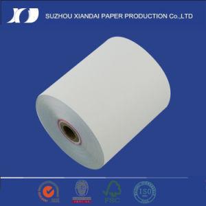 2 ply Rosa/Branco Rolos de papel para autoduplicação