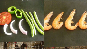 Sainement Non Stick la cuisson barbecue BBQ ACCESSOIRES mat