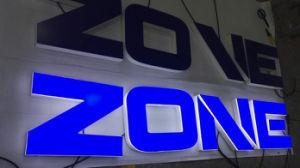 Van de openlucht 3D LEIDENE Bol van het Neon de Lichte Acryl van de EpoxyHars van het Aluminium van het Metaal Plastic Brieven van het ul- Kanaal