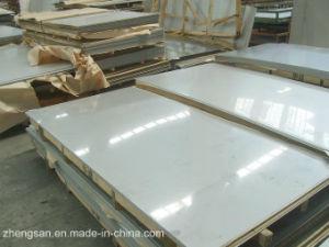 Finition miroir de la plaque en acier inoxydable 304