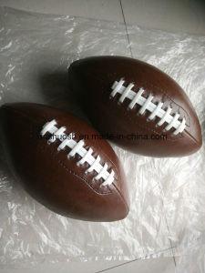 브라운 미식 축구를 바느질하는 3# PVC 기계