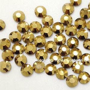 Bergkristallen van het Kristal van de Moeilijke situatie van de manier de niet Hete voor de Kunst van de Spijker (fb-SS20 gouden hematiet)