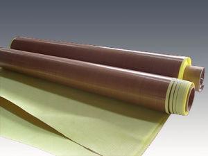 De PTFE Met een laag bedekte Plakband van de Glasvezel