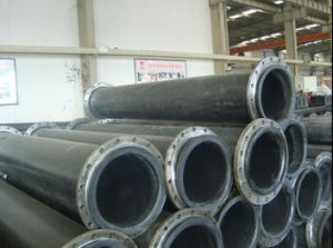 UHMWPE (UP-D-T)를 가진 모래 Discharging Pipe