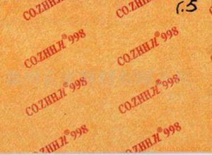 Placa de fibra de papel Placa média Placa Química Toe Puff para sapatos Materails
