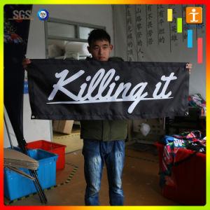 熱転送機械印刷の旗を使用しなさい
