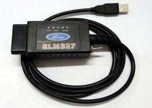스위치 OBD2를 가진 Forscan 느릅나무 327 USB는 스캐너 무선 진단 기구를 버스로 갈 수 있다