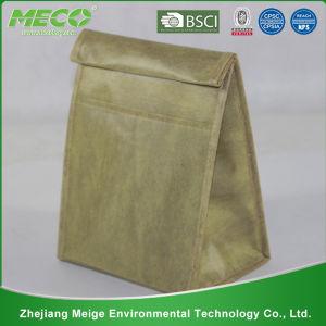 Imprimé isolés refroidisseur non tissé sac à lunch avec Format personnalisé (MECO113)