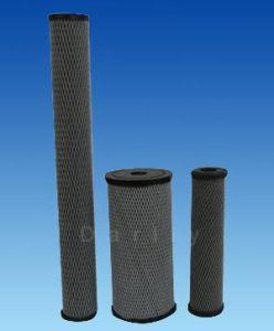 Cartucho filtrante de celulosa impregnados de carbono