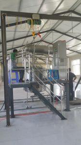 Rose, el romero, geranio Aceite esencial de la planta de destilación de vapor
