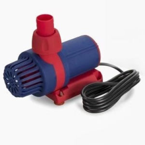 DC 24V 3500L/h de débit variable de commande de vitesse de fréquence basse consommation Les pompes à eau à débit élevé pour les poissons le réservoir