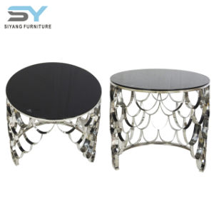Venda por grosso de mobiliário espelhado Tabela de Metal Hobby Lobby mesa lateral de preços