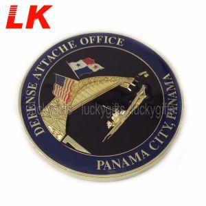 カスタム昇進の真鍮の硬貨の挑戦硬貨