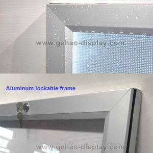 Heißer verkaufender im Freien wasserdichter Aluminiumstrangpresßlingverschließbarer LED Signage