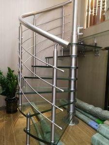 屋内螺旋階段のステンレス鋼304#