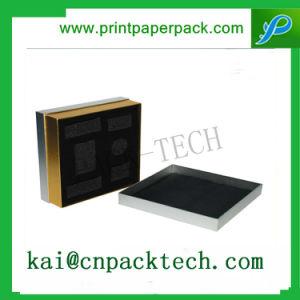 Couvercle en papier de mode de luxe Box pour les cosmétiques Les boîtes de levier élevé