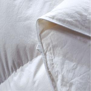 Dell'oca Duvet stabilito bianco del coperchio di base giù