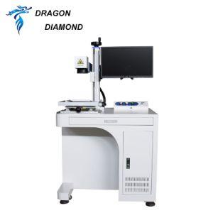 Производство алмазов Drgon портативный станок для лазерной маркировки волокон с помощью подъемного 20W 30W 50W