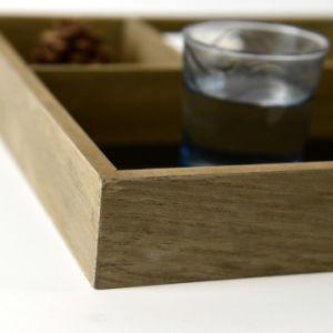 [فسك] عادة خشبيّ بينيّة زخرفة حصّة صينيّة أداة مائدة