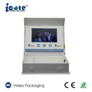 Mailer Vídeo 4,3 polegadas com Box Print
