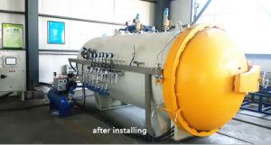 Autoclave composita di grande capienza per la fibra Procesing del carbonio
