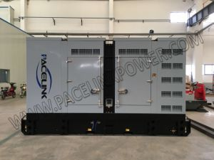 Ce/ISOの344kVA Cumminsによって動力を与えられる防音のディーゼル発電機