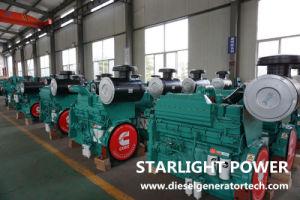 100kw 125kVA conjunto gerador diesel eléctrico alimentado pela Cummins 6BTA5.9-G2