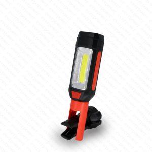 携帯用Foldable磁石クリップベース穂軸LEDの点検ライト