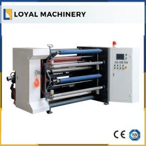 Papel autoadhesivo etiqueta cortadora longitudinal de la máquina de corte de alta velocidad