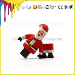 Рождество Санта Клаус USB флэш-памяти для рождественских подарков