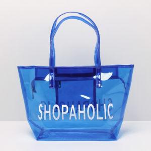 ca1297e45 Bolsa de caramelos de PVC transparente bolsa de playa chica del bolso de  compras