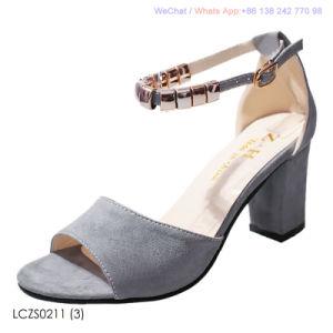 Les femmes mi talon bloc sangle Strappy sandales Mesdames Parti chaussures