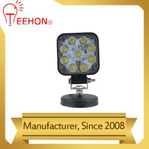 12V LED de alta potencia 27W de luz de trabajo de conducción